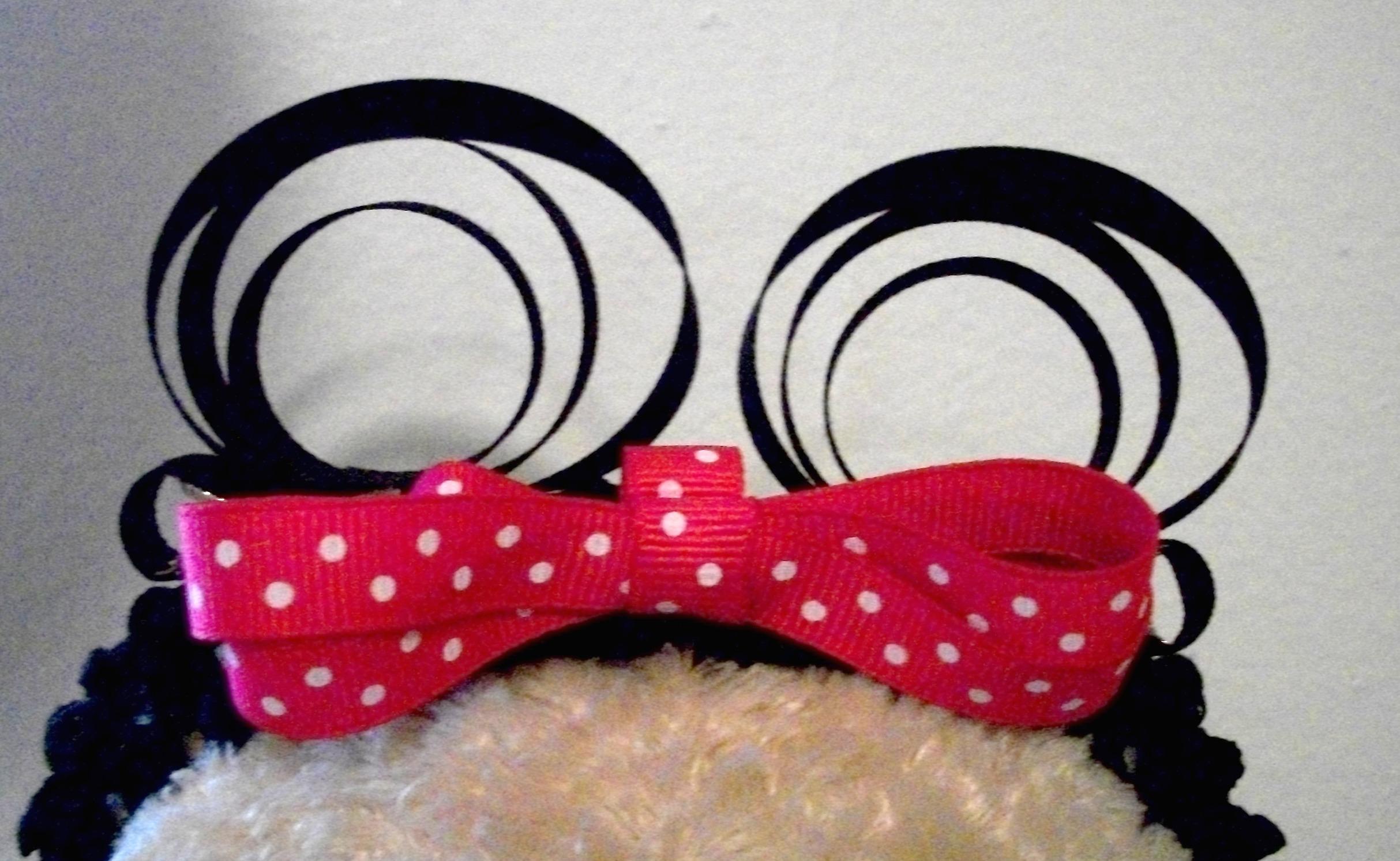 Minnie Mouse Hair Bow Template Minnie mouse ears hair