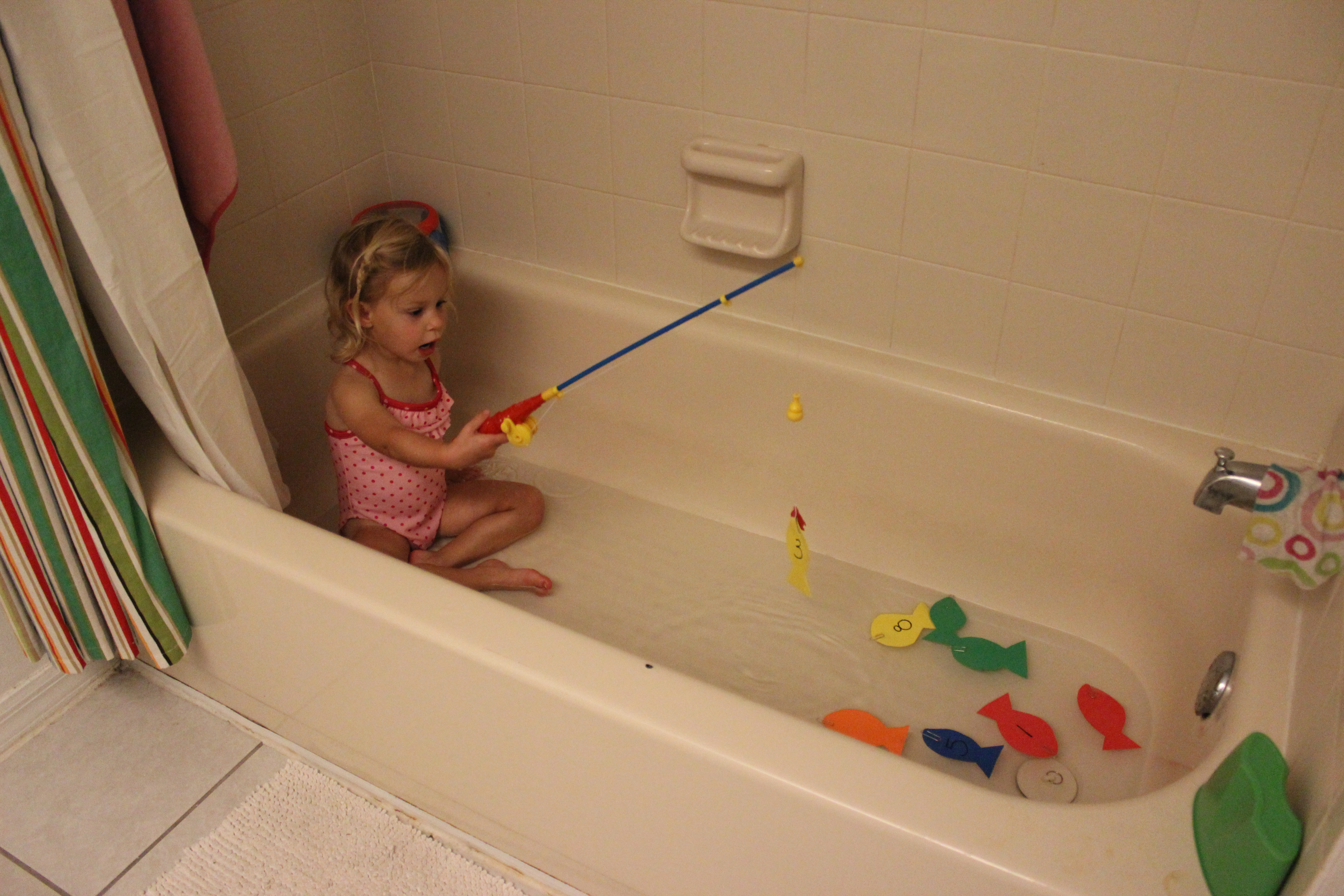 The Little Girl and the Bath Tub – Domesticating Michelle
