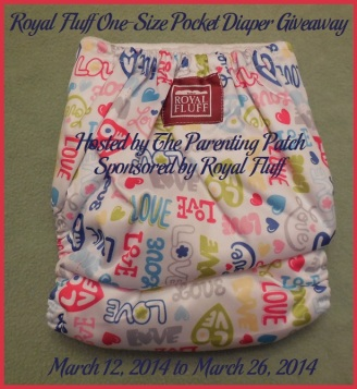 2014-03-12 Royal Fluff One-Size Pocket Diaper Giveaway