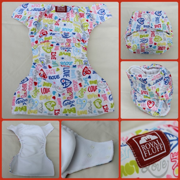 royal fluff diaper Collage
