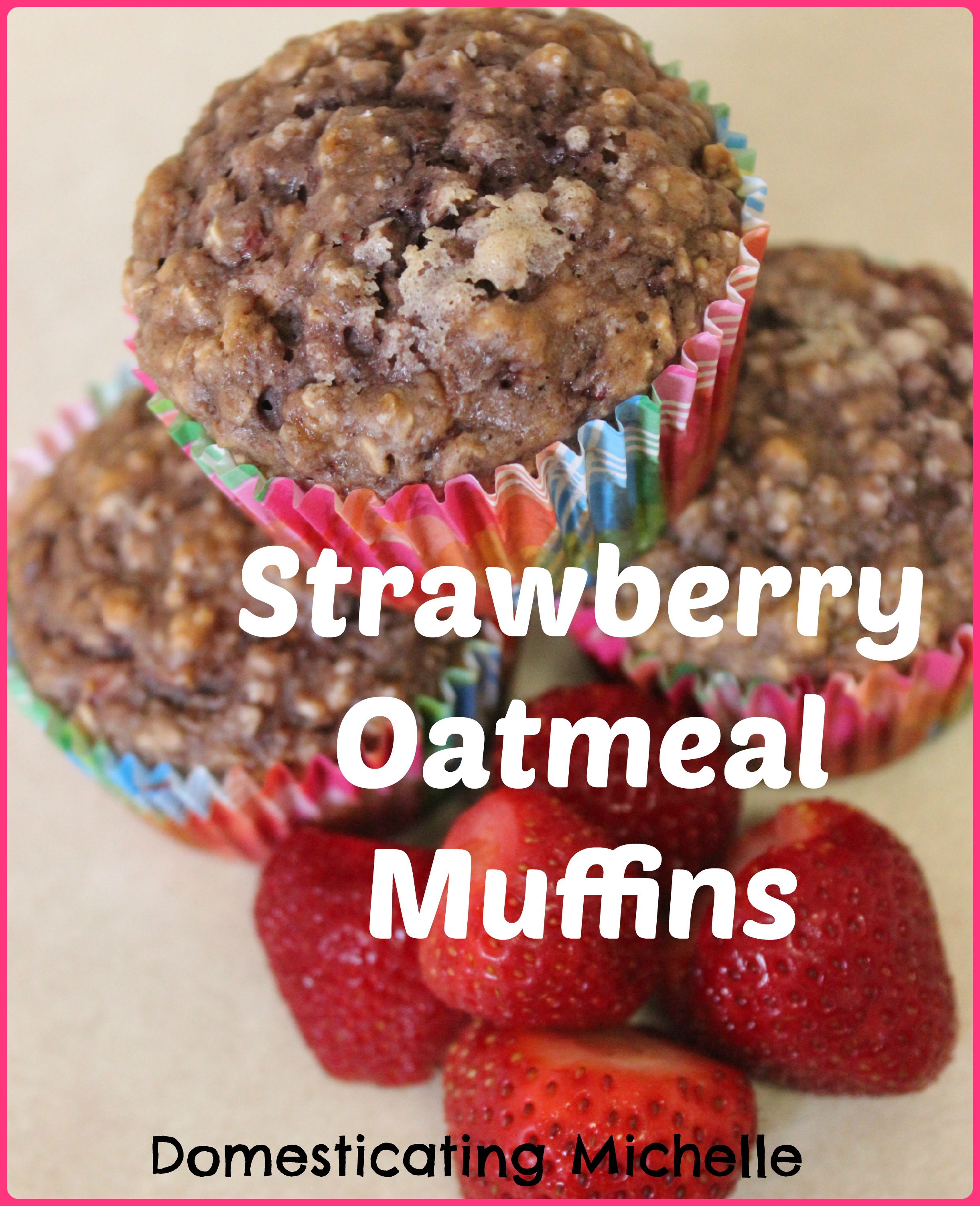 First Time Strawberry Picking and Strawberry Oatmeal Muffins ...