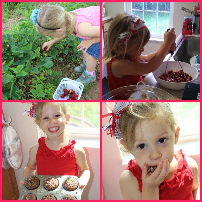 strawberry Collage 2