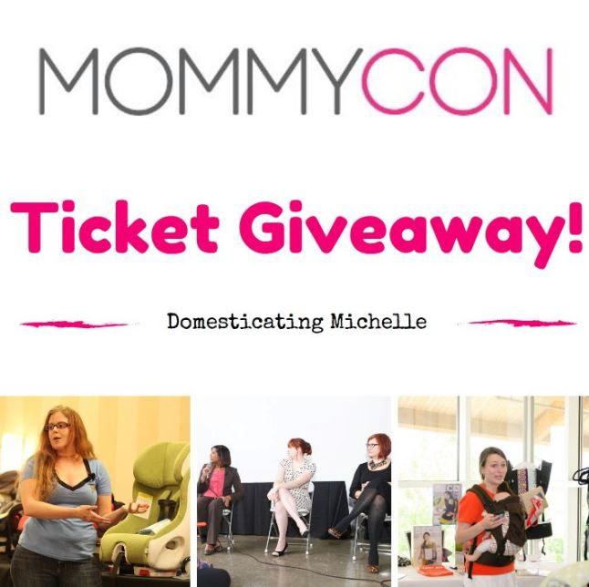 MommyCon 2015 Ticket Giveaway!