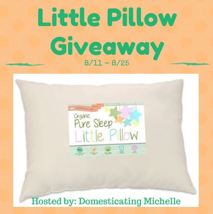 pillow giveaway