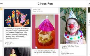 circus fun snip